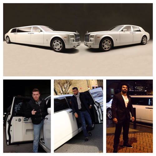 Rolls Royce Phantom and Phantom Limo